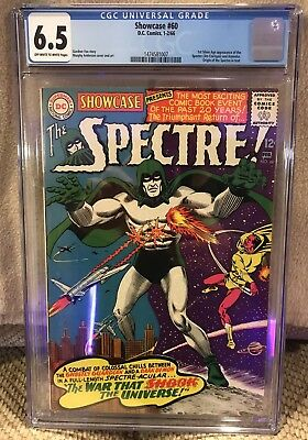 Showcase #60 CGC 6.5 -1st Appearance of Spectre in Silver Age DC Key
