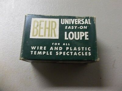 Vintage BEHR Universal Easy On Double Loupe 3 1/2 & 2 1/2 Model 55