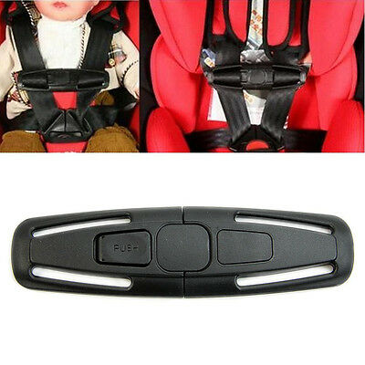 Baby Car Safety Strap Lock Buckle Latch Harness Chest Child Seat Belt Cli qlll