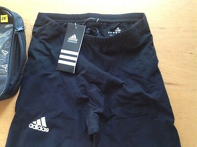 """Adidas Boys Competition Jammers 28"""" Black"""