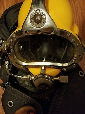 kirby morgan 37 super light diving helment/ Ready to use