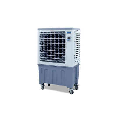 High Flow 120L Industrial Evaporative Air Cooler Indoor/Outdoor Cover 54sqm