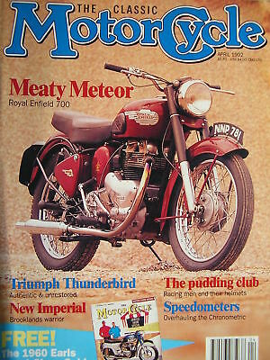 Royal Enfield Meteor 700,New Imperial Racer,Triumph Thunderbird 1958,Rudge 500