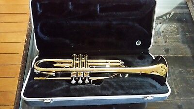 Trumpet Gold With Case - Best Quality For School Students