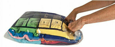 Travelon Travel Accessories Set of 2 Compression Packing Bags Clear 04250
