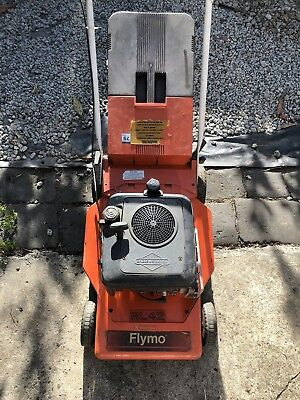 FLYMO Lawn Mower Petrol Briggs & Stratton Collectors Made In England