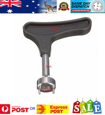 SPIKE WRENCH TOOL FOR GOLF SHOES - REMOVE REPLACE SPIKES - Aussie Stock