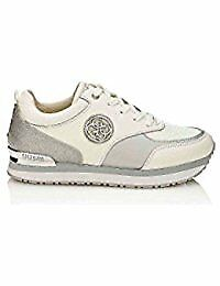 Guess fldam1fam12 bianco sneakers donna scarpe shoes zapatos
