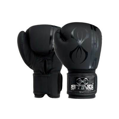 Original Sting SASG-0115 Armaplus Stealth Boxing Gloves Black