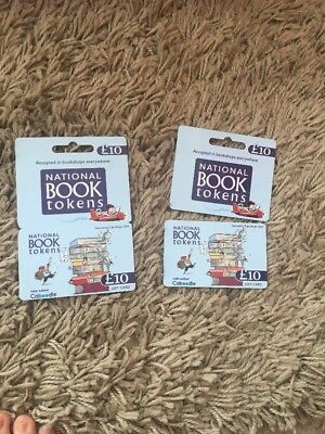 National Book Tokens £11 Value - Gift Card- Waterstones/Foyles/WHSmith