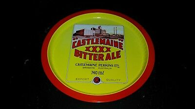 XXXX Castlemaine Bitter Ale Beer Drink Serving Tray