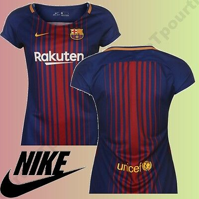 @@top 2017@@ Fc Barcelona Jersey Home Official 2017-2018 Women From Xs In L