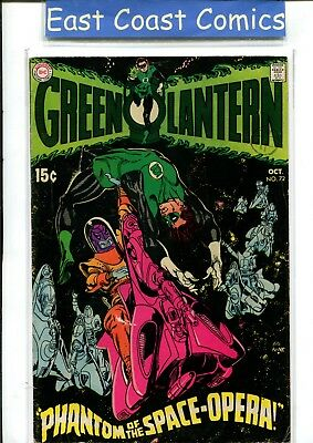 Green Lantern #72 - Fine Plus - Dc
