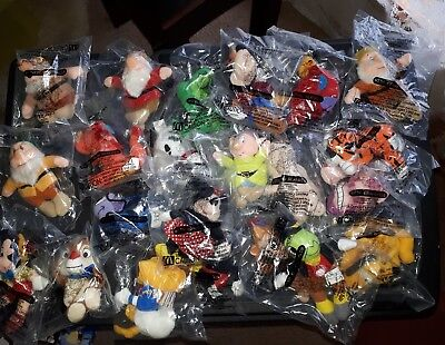 McDonalds Happy Meal Toys 2001 Snow White and the Seven Dwarfs Disney Babies
