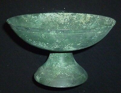 ROMAN Ancient Bronze CUP / BOWL Circa 200-400 AD                    -5609