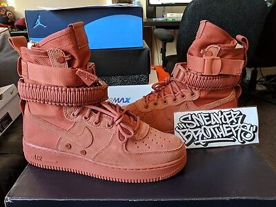 new concept 613d2 bcbcb Nike SF AF1 Special Forces Field Air Force 1 One Dusty Peach Mens 864024- 204