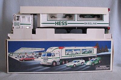 HESS 1997 Toy Truck And Racers NEW in BOX