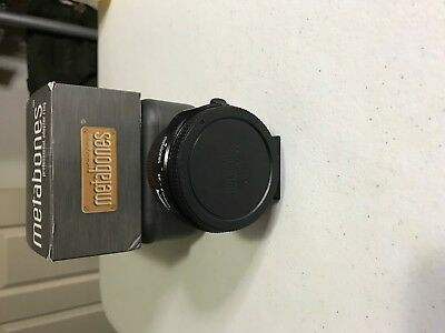 Metabones Canon EF to Sony Emont Mark IV adapter