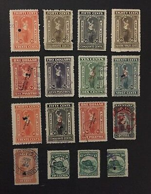 Canadian Stamp Selection of Used Quebec Revenue