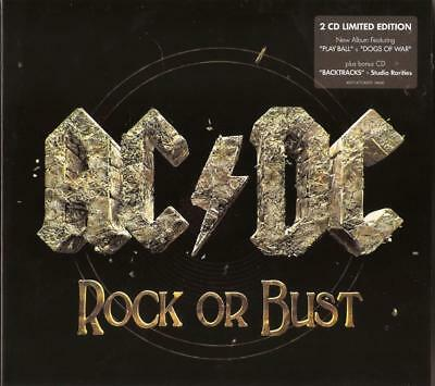AC/DC Rock Or Bust 2CD New Sealed