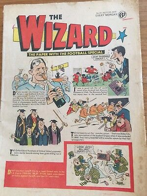 The Wizard #22 July 11th 1970