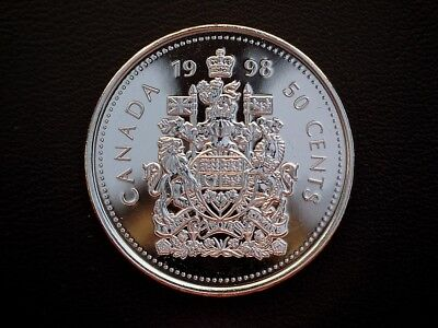 1998 Canada 'Proof Like' 50 cent coin