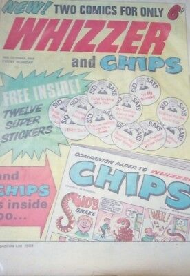 whizzer and chips comic 1969