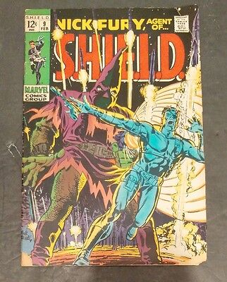 NICK FURY AGENT OF SHIELD # 9 (Feb 1969 MARVEL) Silver Age