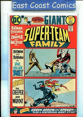 Super-Team Family #2 - Very Fine Minus - Dc