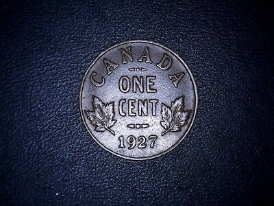 1927 Canada 1 cent coin
