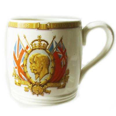 Myott 1935 mug to commemorate the Silver Jubilee of King George V and Queen Mary