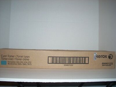 006R01376 6R1376 New Genuine Xerox Cyan Toner 700 Digital Color Press J75 C75