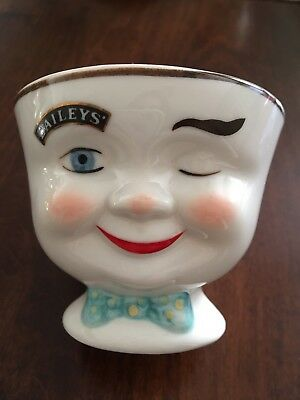 1996 Limited Edition  Baileys.YUM WINKING FACE Cup Mug 6 oz  Mint Cond