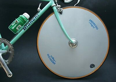 Rare Ambrosio Lopro Disc Wheelset With Very Rare 'record' Rear 700/650