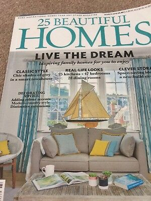 25 beautiful homes march 2018 edition in exc condition