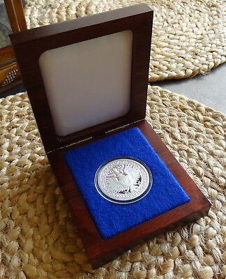 Destiny Series - The Raven - 2 oz 999 Silver Coin in Wood Gift box * Ebay Bux *