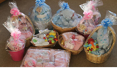 Joblot Baby Gift Baskets and other items