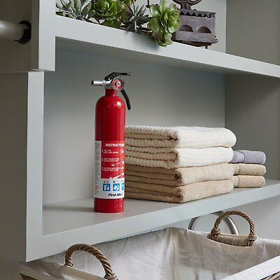 Fire Extinguisher Home Alert Standard Easy Safe Rechargeable Boat Office Kitchen