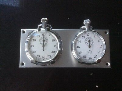 Rally Timer/Stopwatch on Twin Dash Mount holder
