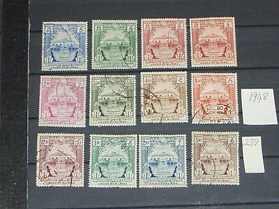 early Burma stamps to 5 rupees