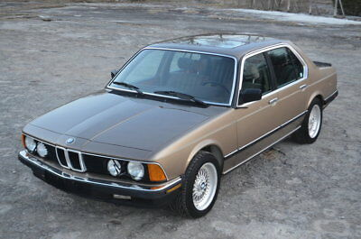 1985 BMW 7 Series EXECUTIVE ONE of 1058 Limited Production Turbo Charged 745 EXECUTIVE