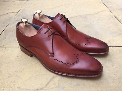 Barker Benedict Derby Shoe Brown Croc Calf UK 8 B.N.I.B Bargin!