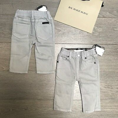 BNWT Baby Boys 6m BURBERRY grey denim jeans bottoms & Lots More100% Genuine