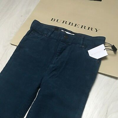 BNWT Gorgeous Boys BURBERRY velvet trousers jeans 18 months  100% Genuine