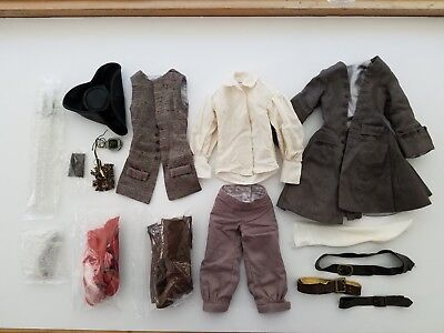 Tonner Captain Jack Sparrow Pirates of the Caribbean outfit only -Complete!