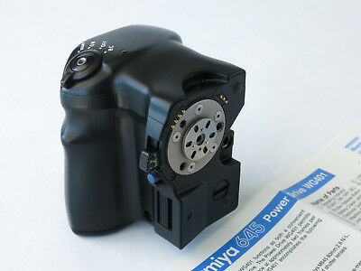 MAMIYA Motor Power Winder WG401  for 645 Pro and Pro TL   EXCELLENT   NO RESERVE