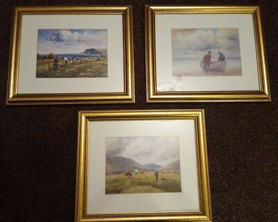 Charles McAuley prints pictures  x 3 approx 14 x 16 inches