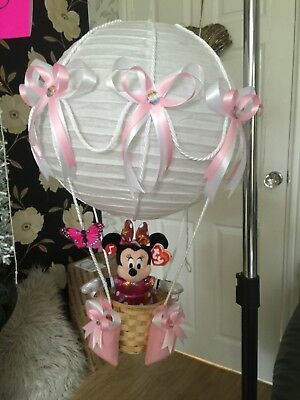 Disney minnie mouse in hot air balloon lightshade for baby bedroom❤️gift❤