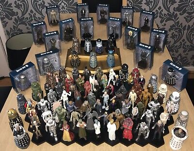DOCTOR WHO FIGURINE COLLECTION - By Eaglemoss - WORTH OVER £850!!!