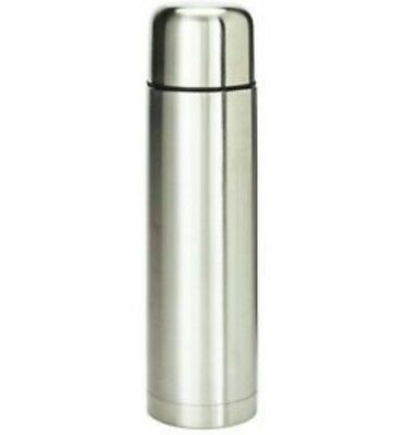 Tesco Dine Vacuum Flask Stainless Steel Insulated Hot/Cot *NEW*